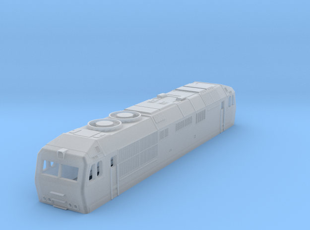 tep70 bc 124 mm russian locomotive in Smoothest Fine Detail Plastic
