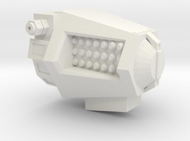 1/72 Augurs Missile Pod (part #4 for kit) in White Natural Versatile Plastic