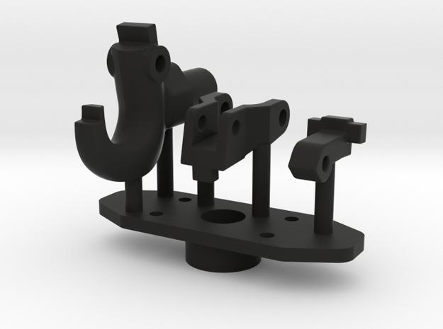 Armee-Haken-Kupplung NVA in Black Natural Versatile Plastic