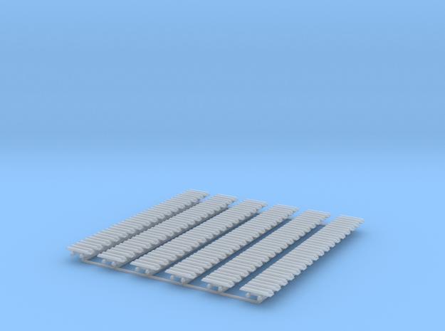 Kette 2 steg 15mm (=750 mm) innenbreite 5 mm 1:50 in Smooth Fine Detail Plastic