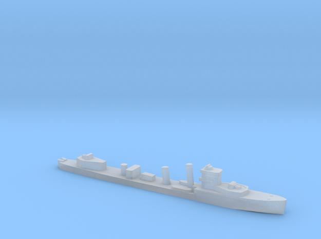 HMS Vega V-class destroyer 1:4800 WW2 in Smooth Fine Detail Plastic