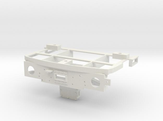 1:32 Class 25/3 Bufferbeam in White Natural Versatile Plastic