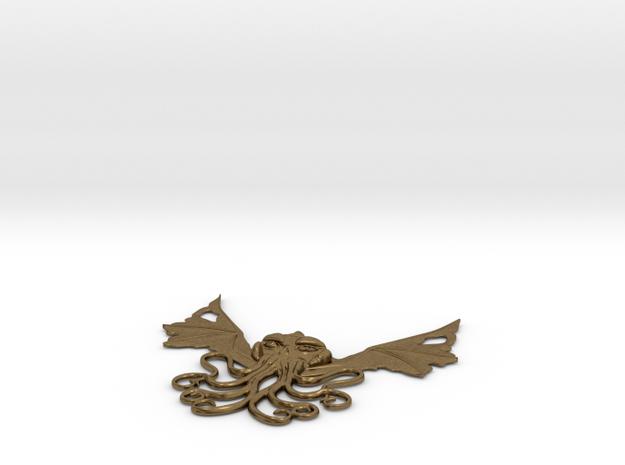 Winged Cthulhu Necklace