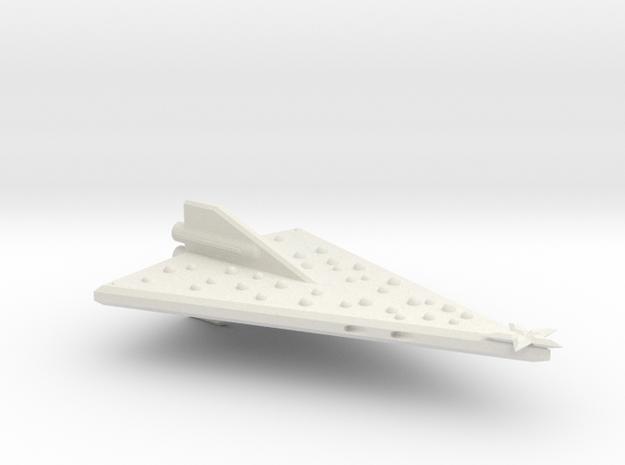 3125 Scale North Polar Tree Heavy Cruiser SRZ in White Natural Versatile Plastic