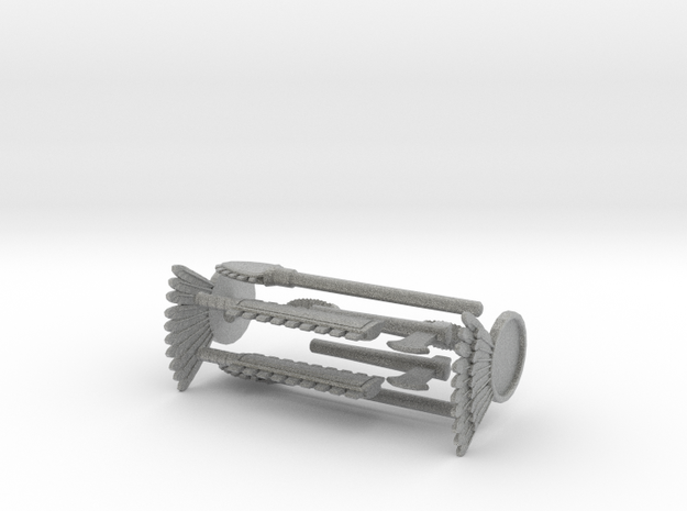 Aztec Weapons 3d printed