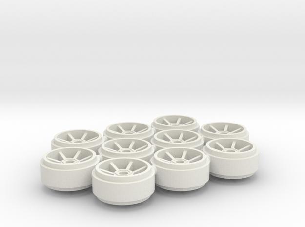 SCX_Porsche_200 in White Natural Versatile Plastic