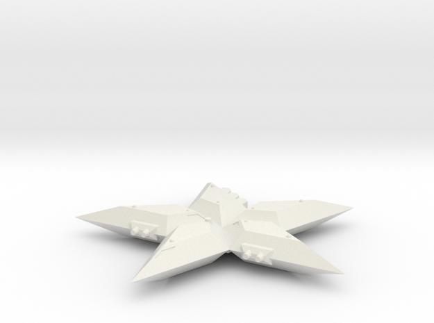 3125 Scale North Polar Star Strike Cruiser SRZ in White Natural Versatile Plastic