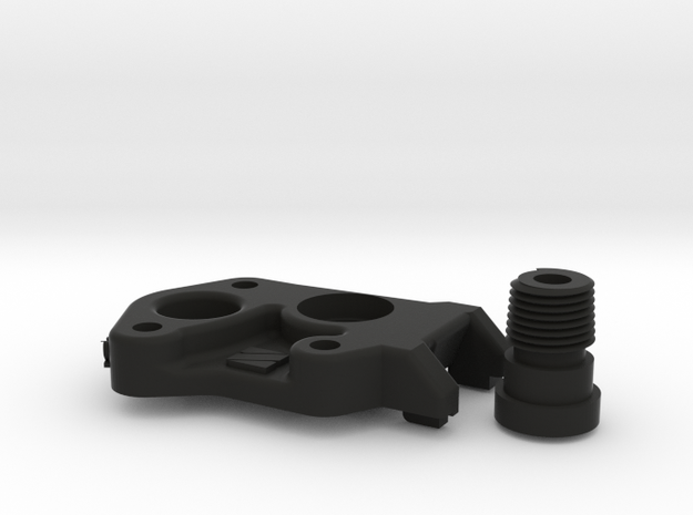 Nimble V2 CR-10 Mount kit in Black Natural Versatile Plastic