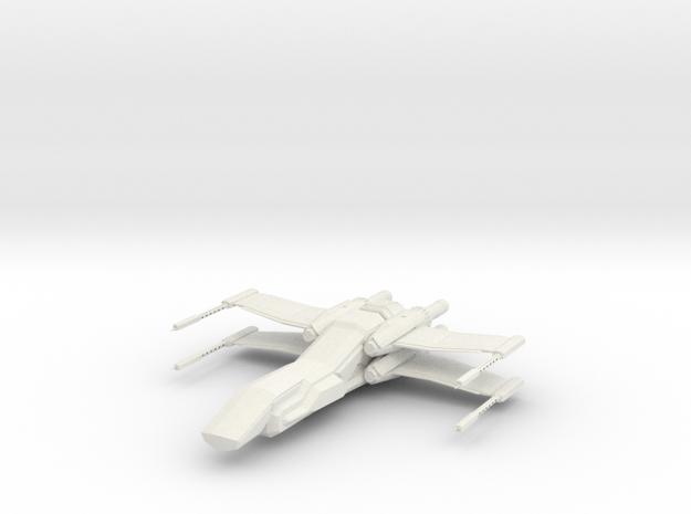 1/144 Penguin Deep Space Fighter in White Natural Versatile Plastic