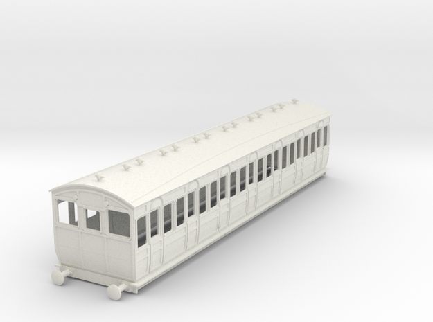 o-32-met-ashbury-bogie-third-class-driver-coach in White Natural Versatile Plastic