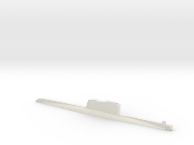 1/600 Scale Golf Russian Class SSG Waterline in White Natural Versatile Plastic