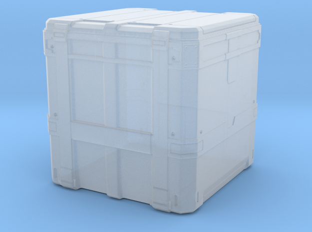 sci fi transport box tabletop size in Smoothest Fine Detail Plastic