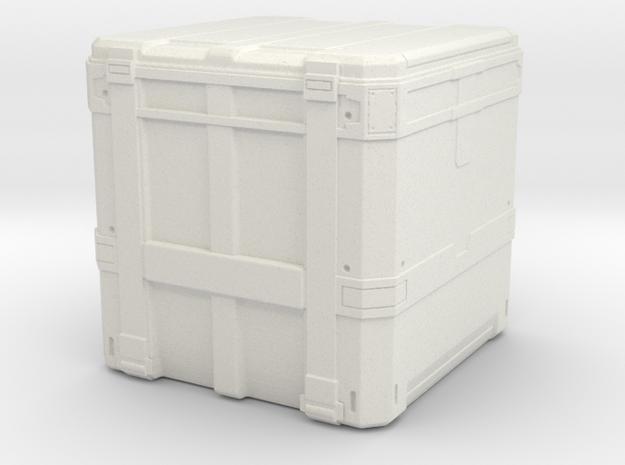 sci fi transport box 1:72 scale in White Natural Versatile Plastic