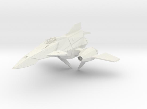 30-TS-2 Serpent in White Natural Versatile Plastic
