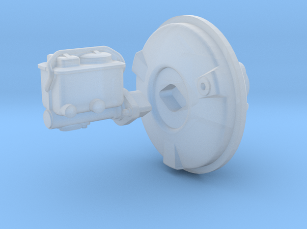 1/25 Holden HQ brake booster in Smooth Fine Detail Plastic