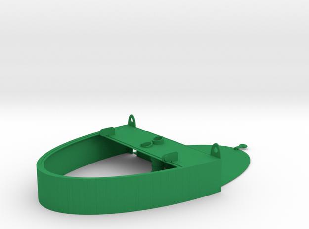 GroWall System Reservoir Top in Green Processed Versatile Plastic