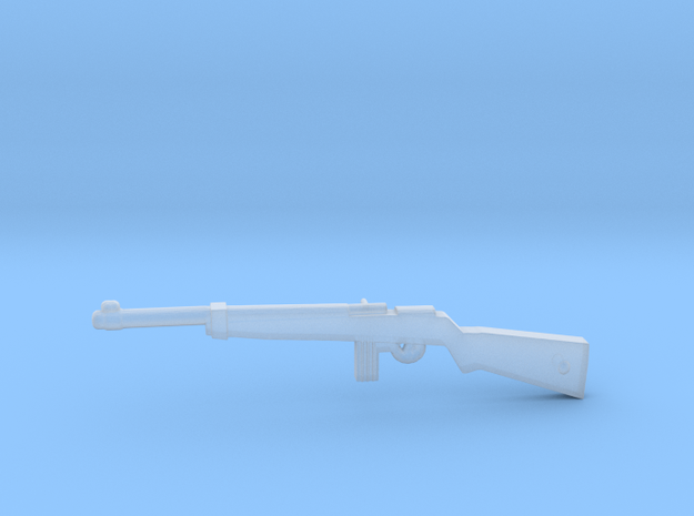 M1 Carbine in Smoothest Fine Detail Plastic