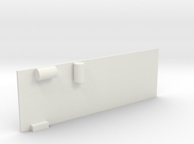 G3-1 in White Natural Versatile Plastic