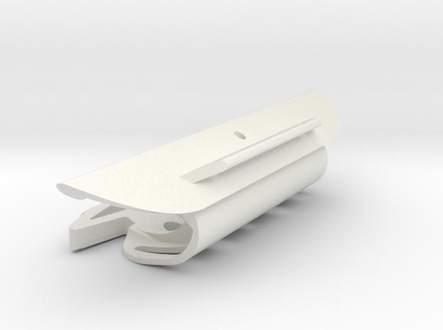 Cape Dory DM450 mast, slot 107mm, TD=19mm in White Natural Versatile Plastic