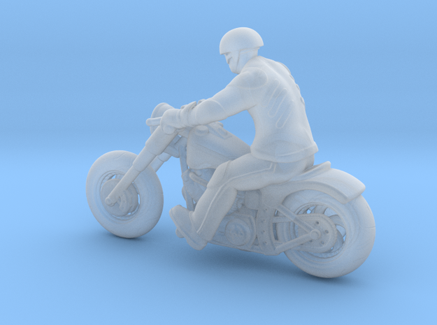 Harley Rider 1:120 TT in Smooth Fine Detail Plastic