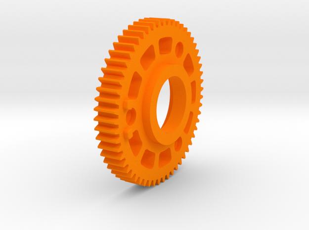 "Preston Standard 0.8 Module Gears. 1/4"" long in Orange Processed Versatile Plastic"