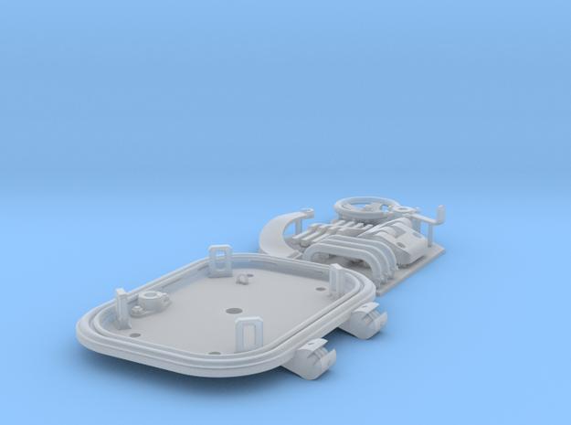 1:16 Tiger I loader's hatch (40mm roof) in Smooth Fine Detail Plastic