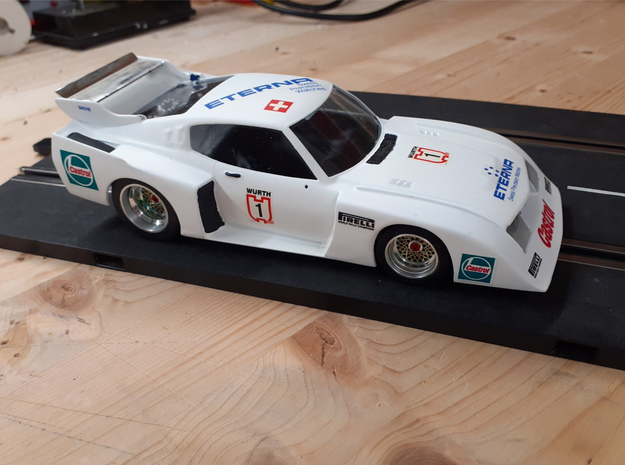 Chassis 124 Tamiya Toyota Celica LB Johnson in White Natural Versatile Plastic