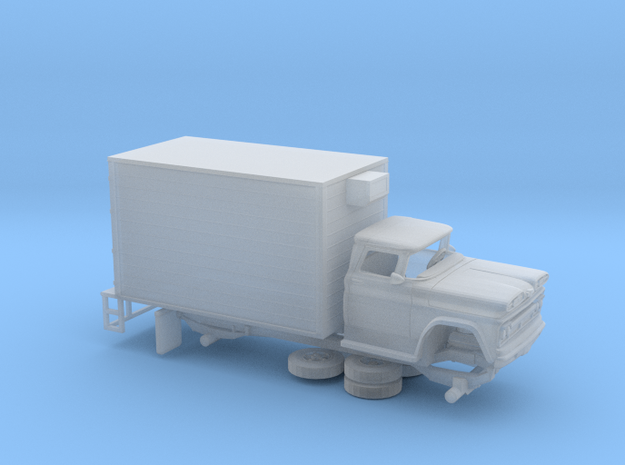 1/160 1960/61 Chevrolet C 50 Delivery Box in Smooth Fine Detail Plastic