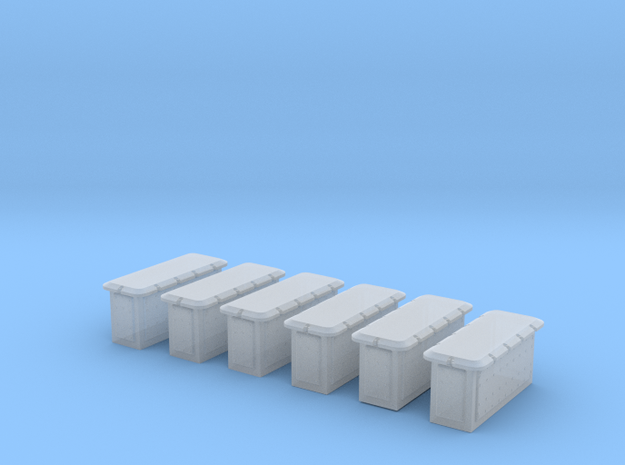1/96 Cecil Superstructure6 Ammo Lockers 20mm Set