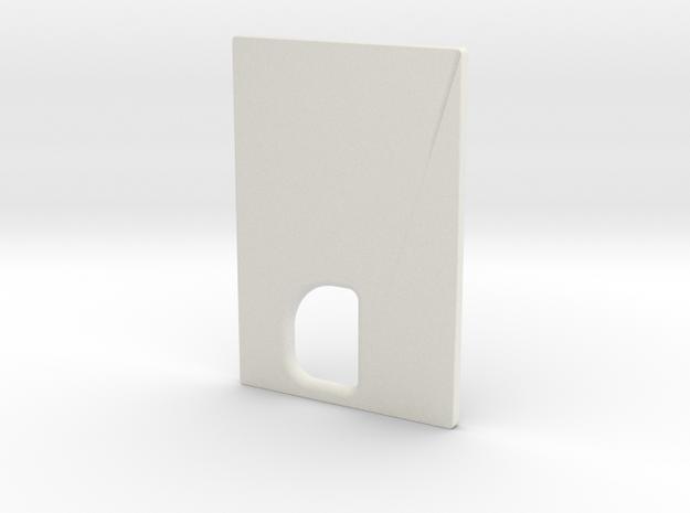 TLF# - DNA75C - Door - CUSTOM in White Natural Versatile Plastic