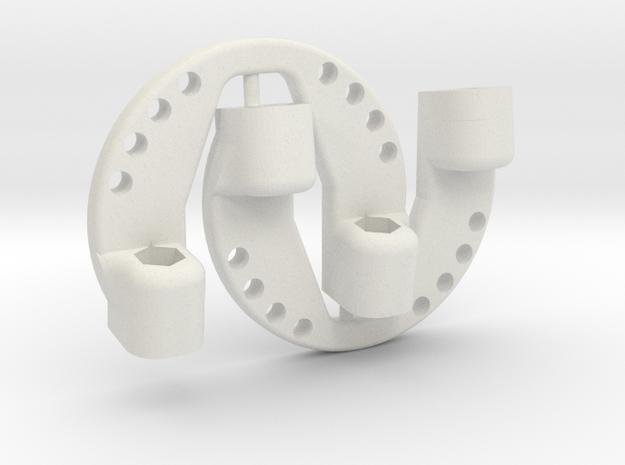 OD45-SUPPORT LEST-V4-2 Big in White Natural Versatile Plastic