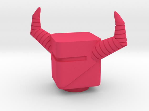 Nemesis Head in Pink Processed Versatile Plastic