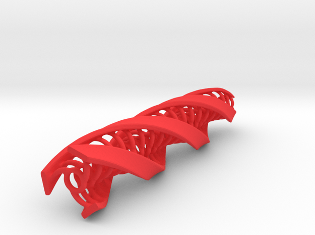 Tripple Helix - circle center 3d printed