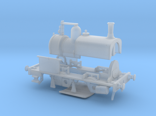 LBSCR Early Craven Tank #27 (0-4-0T) in Smooth Fine Detail Plastic