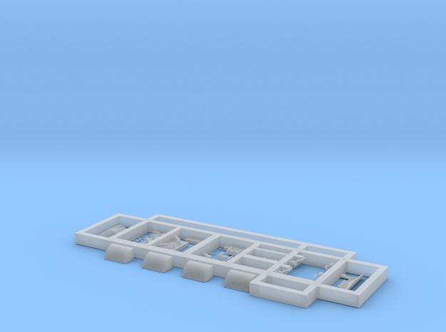 Scala N - FS E632-E633-E652 Dettagli / Details in Smooth Fine Detail Plastic