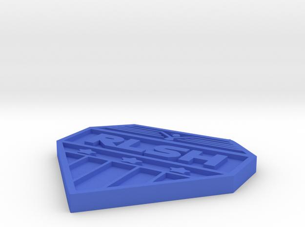 RLSH EAGLE BADGE in Blue Processed Versatile Plastic