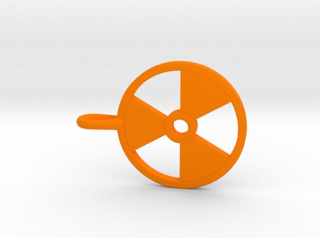Radioactive Pendant 3d printed