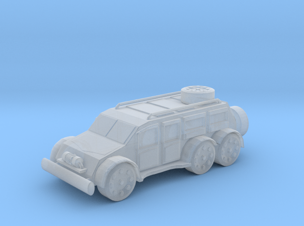 Armour Car in Smoothest Fine Detail Plastic