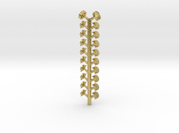 PRR P70 Vent Sprue in Natural Brass