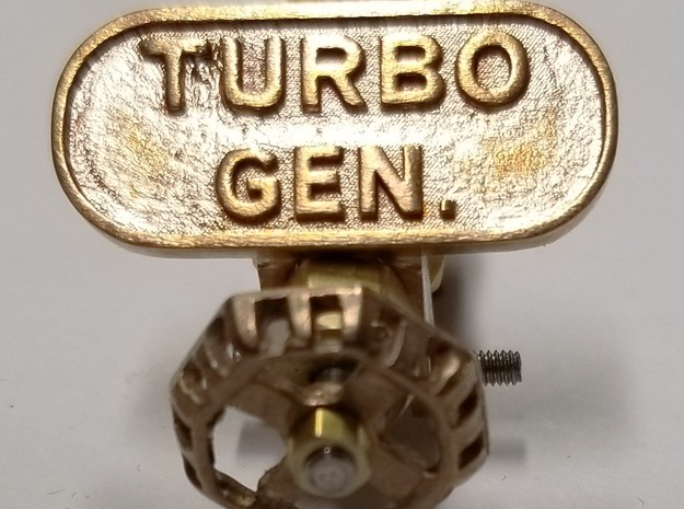 tag_turbo_gen_25 in Natural Bronze