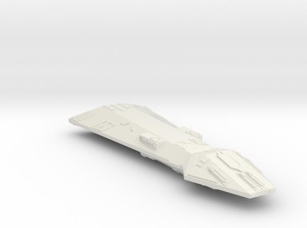 3125 Scale Hydran Templar Early Dreadnought (DNE)  in White Natural Versatile Plastic