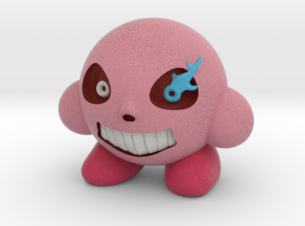 Sans-Kirby in Natural Full Color Sandstone: Extra Small