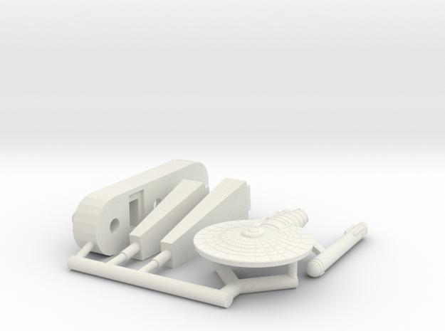 6K Archimedes Class Frigate in White Natural Versatile Plastic