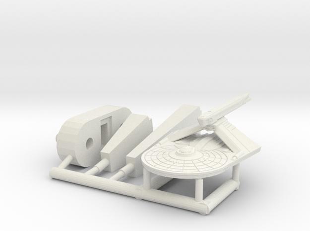 6k Refit Larson Destroyer in White Natural Versatile Plastic