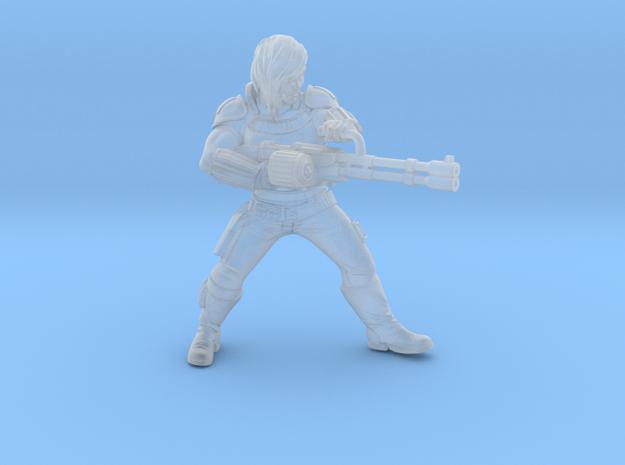 Veteran Mercenary in Smooth Fine Detail Plastic