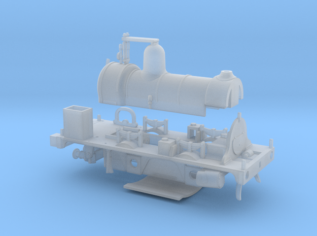 LBSCR Well Tank OO (Works Version) in Smooth Fine Detail Plastic
