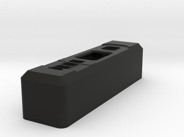 Silo75C in Black Natural Versatile Plastic