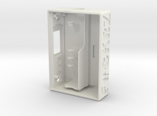 TLF# - DNA75C - CUSTOM in White Natural Versatile Plastic