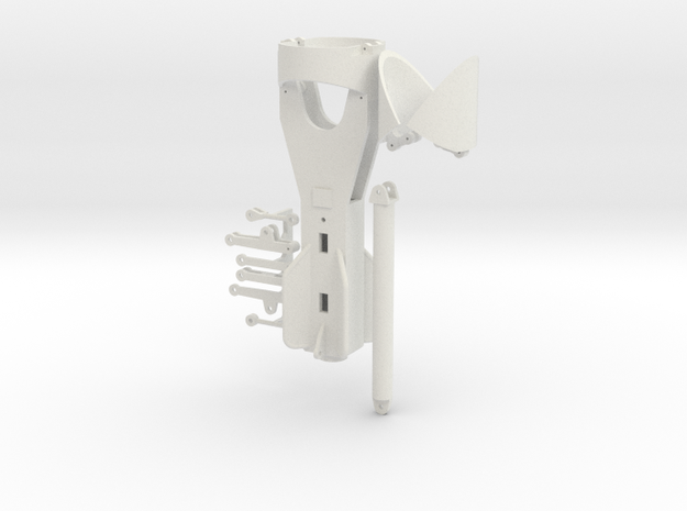 Hammer grab 1200mm in White Natural Versatile Plastic