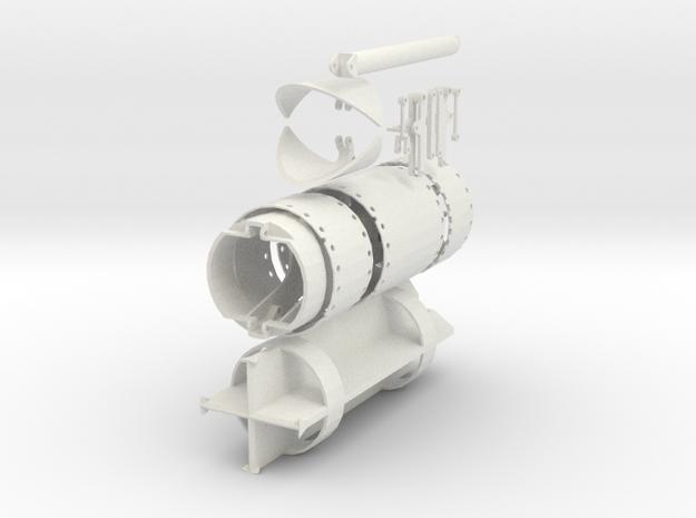 Starter set 2000mm - grab, chisel, casings in White Natural Versatile Plastic